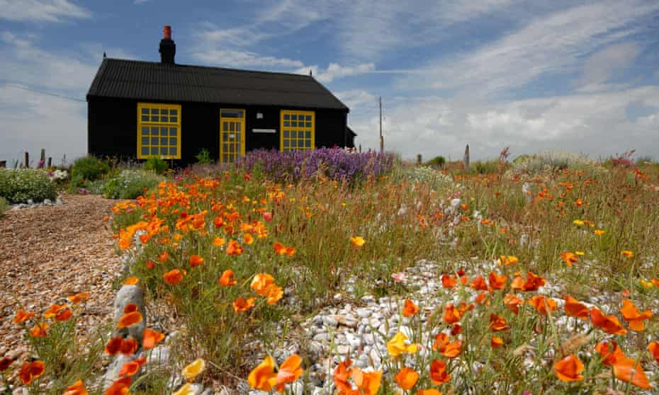 Jarman's cottage at Dungeness in Kent.