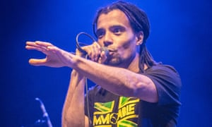 Akala performing in London, April 2018.