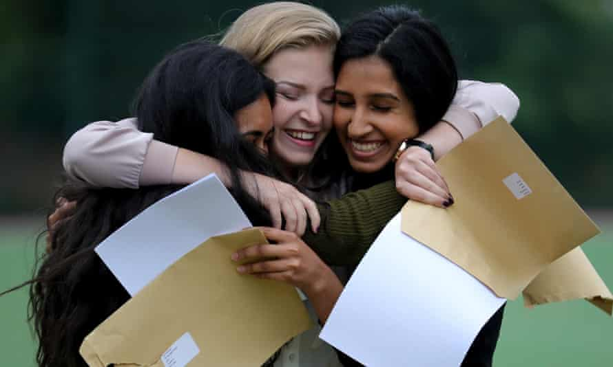 Students receive GCSE results