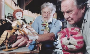 (L-R) Peter Firmin and Oliver Postgate.