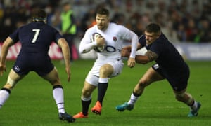 England's Elliot Daly has relished his return to the wing, with George Furbank taking the full-back role he occupied for 18 months.
