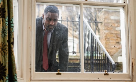 'Is this normal?' ... Idris Elba as Luther.