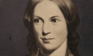 detail from portrait of Charlotte Brontë, circa 1840.<br>