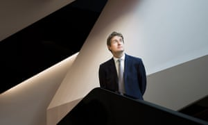 Tristram Hunt photographed in the new Exhibition Road Quarter.