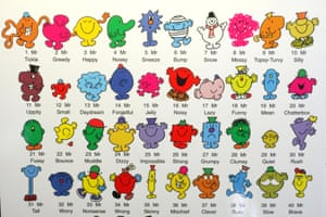 A Mr Men book by Roger Hargreaves