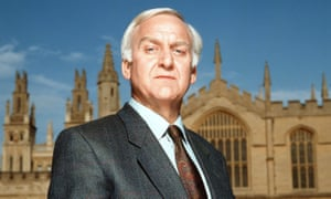 John Thaw as Morse, the Oxford detective with a cryptic mind who loved crosswords.