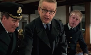 A video still from Brexit: A Titanic Disaster.