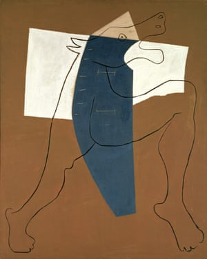 Pablo Picasso's Running Minotaur