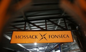 A Mossack Fonseca sign near the offices.