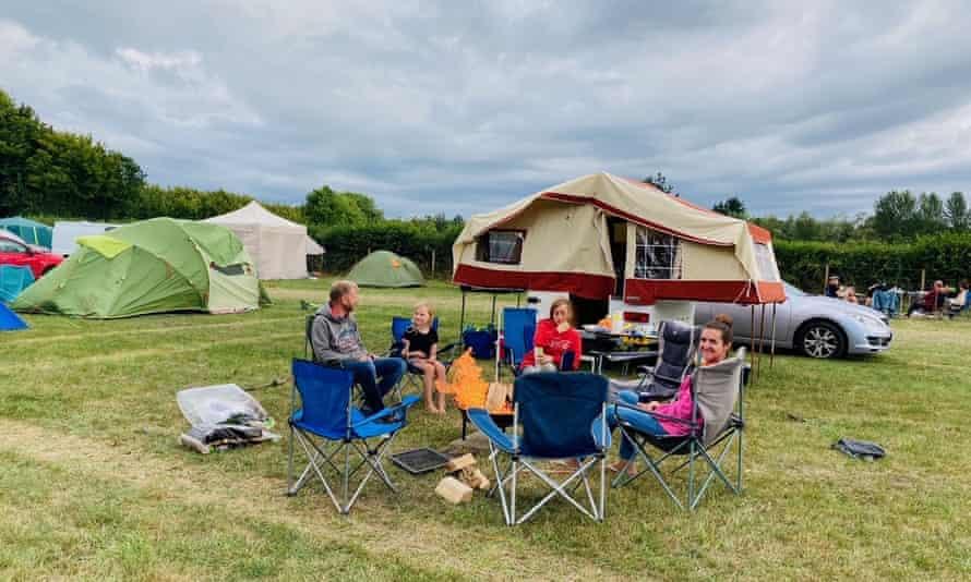 Chapelfield Camping, near Fordingbridge, Hampshire