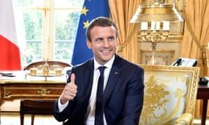 Macron Elysee