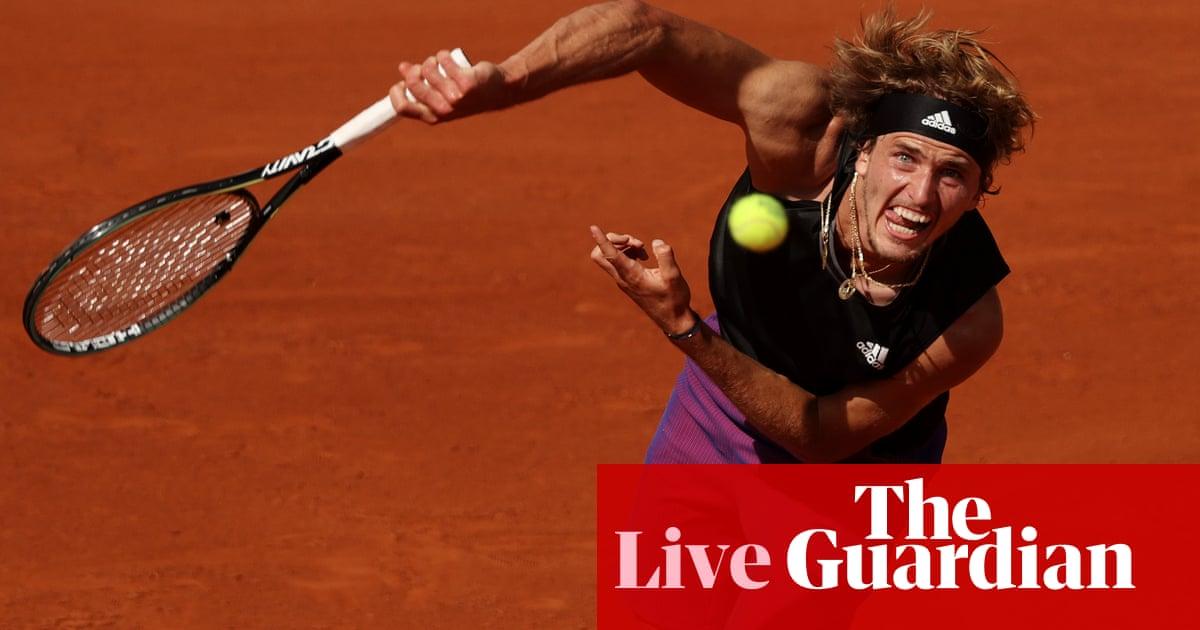 Alexander Zverev contra Stefanos Tsitsipas: abierto Francés 2021 semifinal - en vivo!