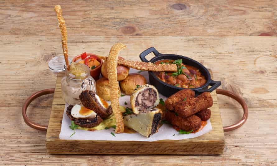 'They have very much nailed the essentials': the Piggy Pieces starter for two.