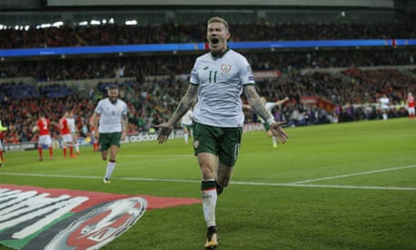 James McClean stuns Wales and sends Republic of Ireland into play-offs