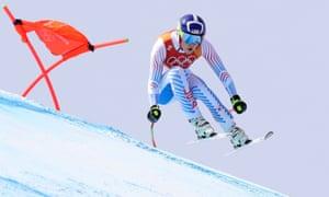 Lindsey Vonn给出了一切看起来可能是她最后一次下坡的奥运会
