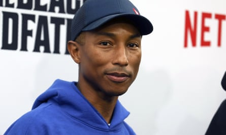 Pharrell Williams, who turns 48 in April, has long been lauded for his 'age-defying' looks.
