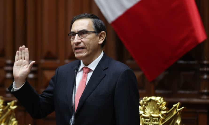 Martin Vizcarra: an opinion poll earlier this month found 81% of Peruvians didn't recognise him.