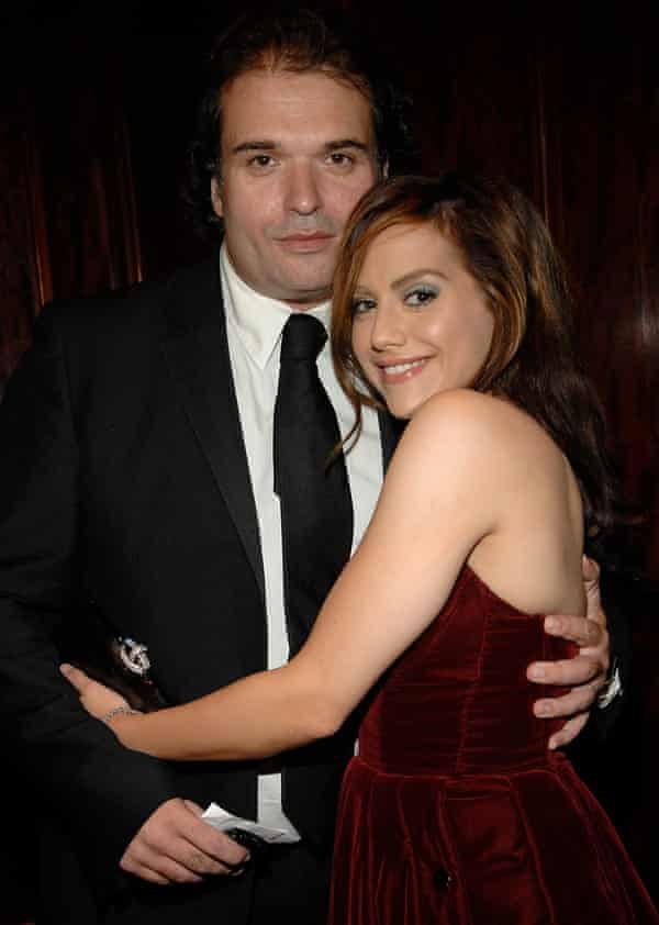 Brittany Murphy and Simon Monjack in 2007.