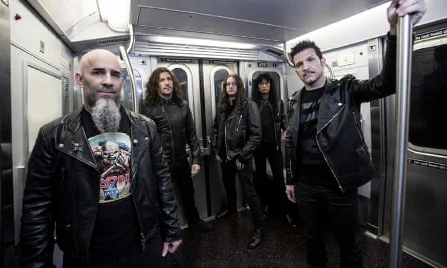 Anthrax band 2016
