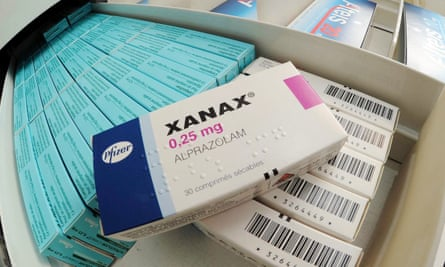 The illicit tablets are sold as benzodiazepines, such as Xanax.