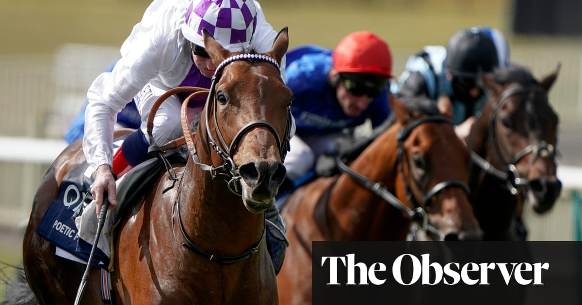 Poetic Flare holds off Master Of The Seas in thrilling finish to win 2,000 Guineas