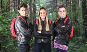 For the Release the Hounds Celebrity Halloween special, Joey Essex, Charlotte Crosby and Pete Bennett got ravaged.