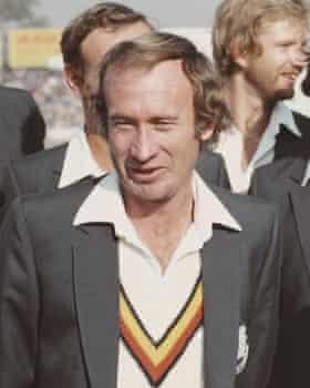 The former England captain Keith Fletcher.