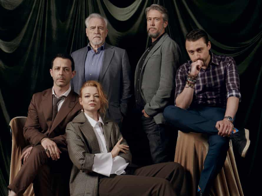 The Roy family, played byJeremy Strong, Sarah Snook, Brian Cox, Alan Ruck and Kieran Culkin.