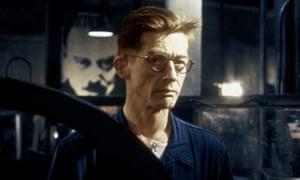 John Hurt as Winston Smith in the 1984 film version of Nineteen Eighty-Four.