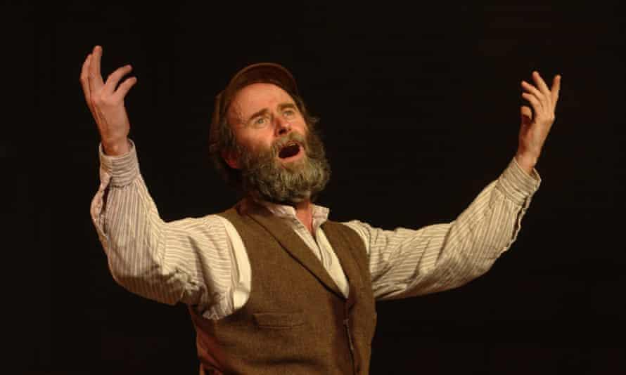 Patrick Brennan as milkman Tevye in Fiddler on the Roof.
