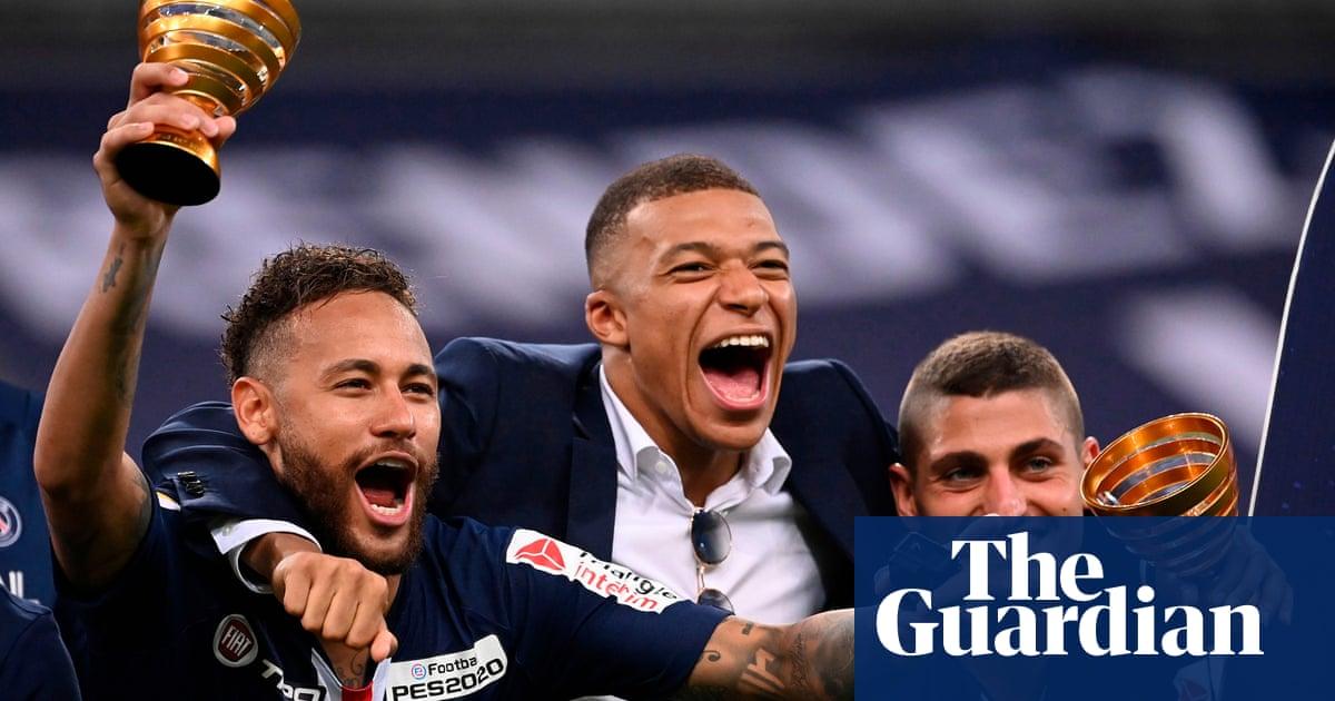 PSG and Lyon warm up for Champions League in Coupe de la Ligue final