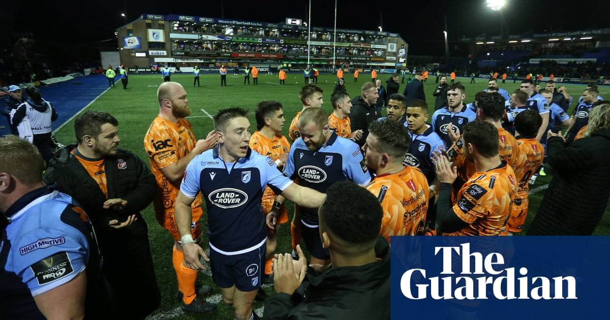 Sharp Cardiff outfox regional rivals Dragons in rare Boxing Day sellout