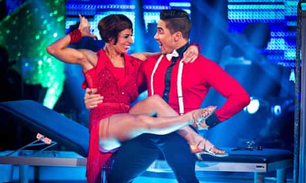 All the right moves: Louis Smith with Flavia Cacace in Strictly Come Dancing in 2012.