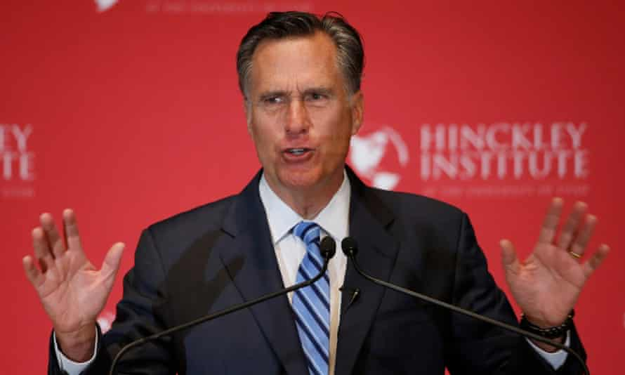 Mitt Romney has warned that Donald Trump could cause 'trickle-down racism'.