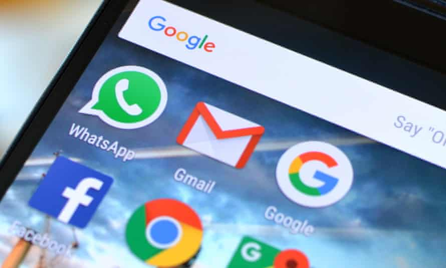Google's email service, Gmail, no longer scans the contents of your communications for targeting ads.