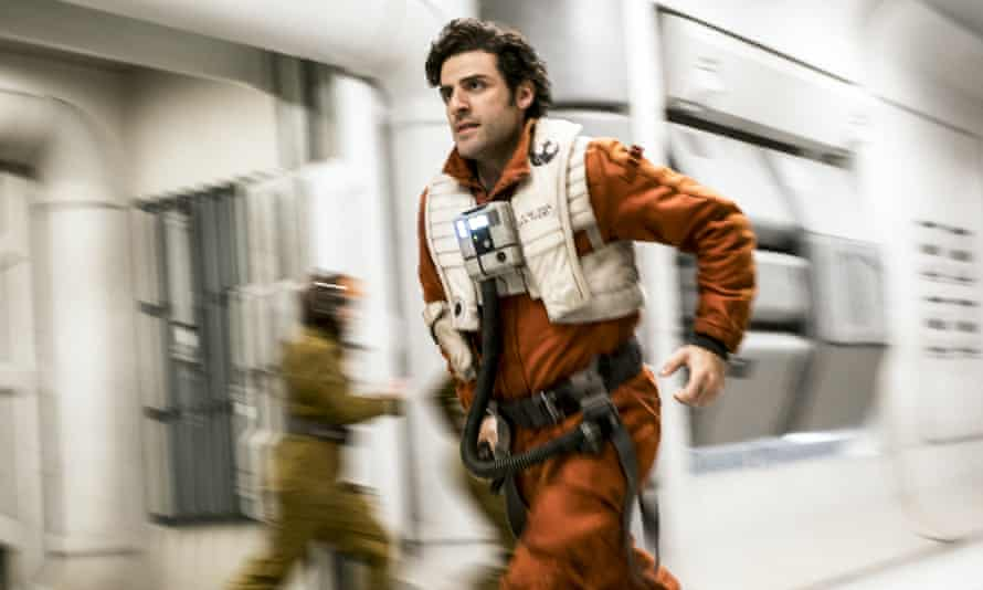 Oscar Isaac, from Guatemala, in Star Wars: The Last Jedi. Only 3% of speaking characters in 2016′s top 100 films were Latinos.