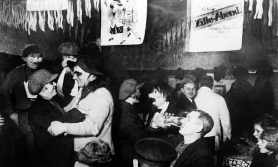 A club in Berlin, c1935, where there was a degree of sexual freedom unimaginable in Britain.