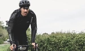 'It's a hard sport, but it brings you a lot of experiences and new skills for your life. Ride because you want to ride – and don't overtrain': Fabian Cancellara in his Wiggle jacket.