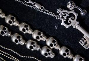 Flint's jewellery on display