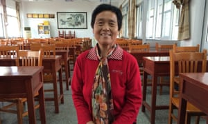 Yu Bing, 72, is one of about 570 students at the University of the Aged.