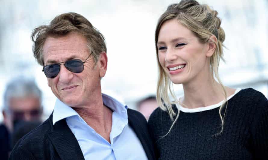 Sean Penn and his daughter, Dylan.
