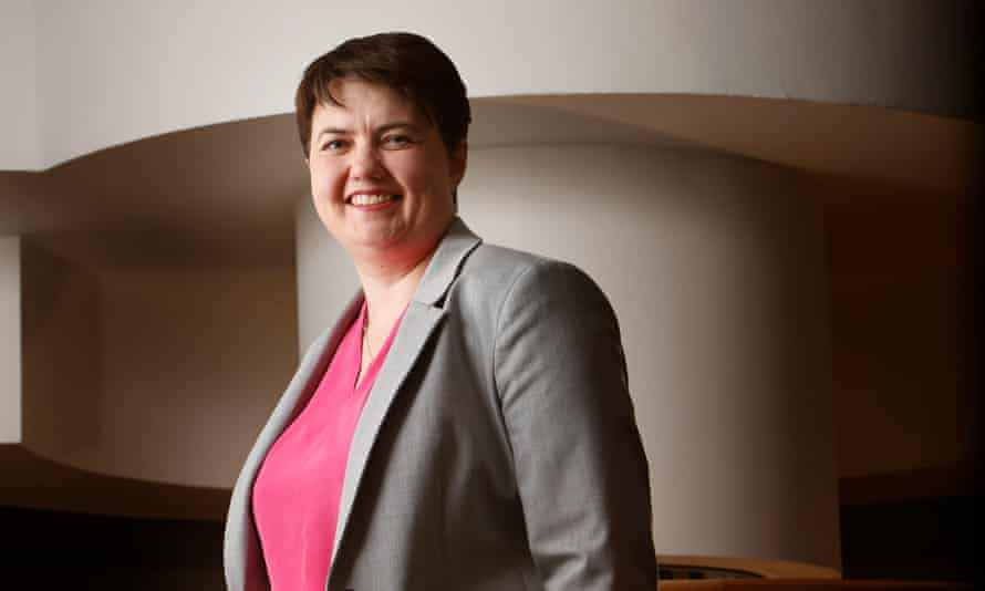 Ruth Davidson, leader of the Scottish Conservative party