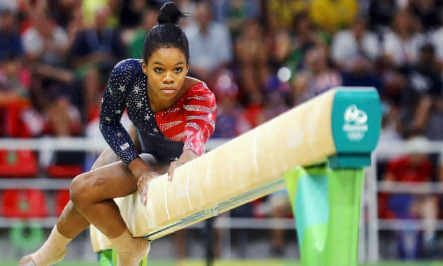 Gabby Douglas is a three-time Olympic champion