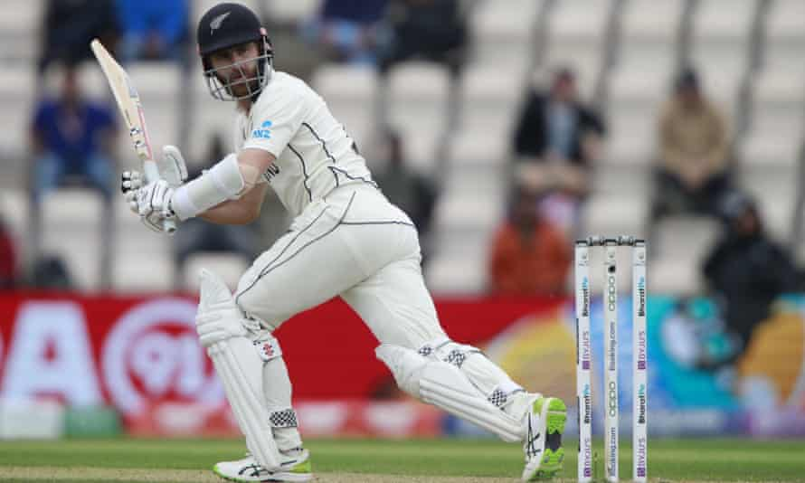 Kane Williamson digs in as New Zealand and India take edgy WTC final to  last day | World Test Championship | The Guardian