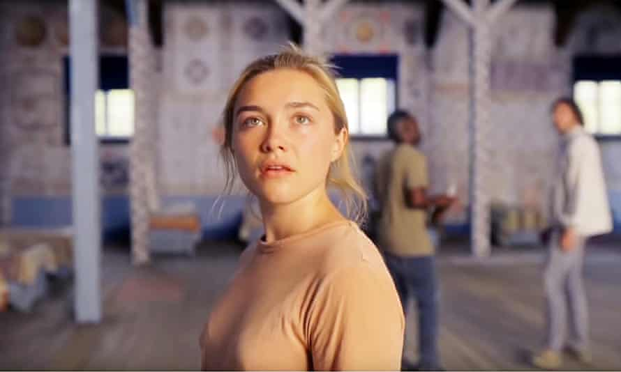 A crescendo of paranoid trippiness … Florence Pugh in Midsommar.