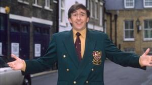 Steve Coogan as Alan Partridge in Knowing Me, KNowing You in 1994