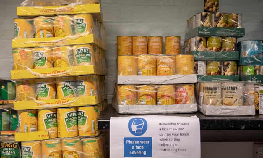 The church has played a vital role in setting up and running food banks.