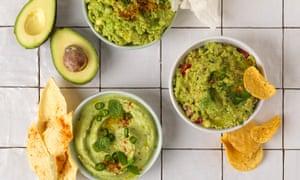 Avocado guacamole - a crowd pleaser