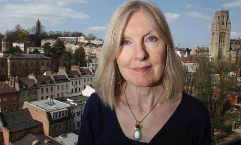 Helen Dunmore in her home city of Bristol in 2010.