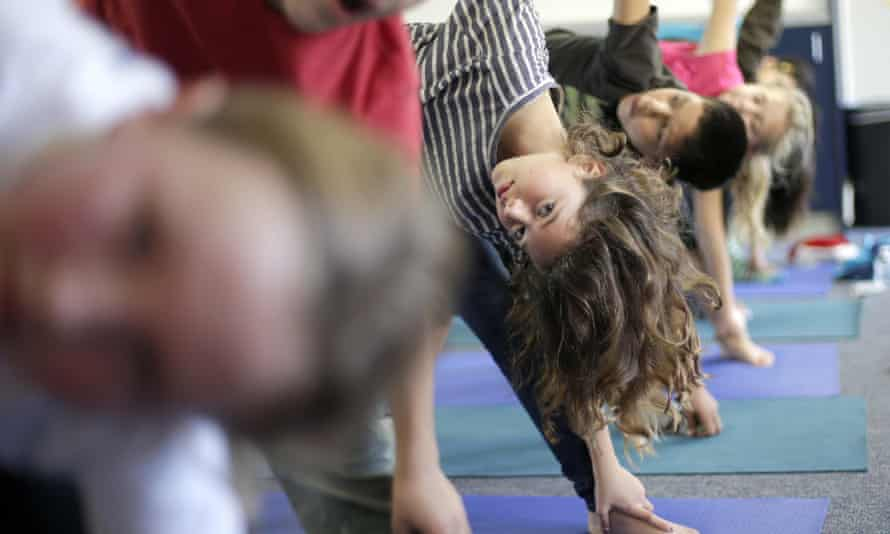 Jeremy Gray, a Democratic representative and certified yoga instructor, introduced the legislation to allow yoga back in schools three times before it was approved in the 75 to 14 vote on Monday.